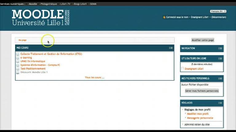 Profil personnel pour des exemples de datation